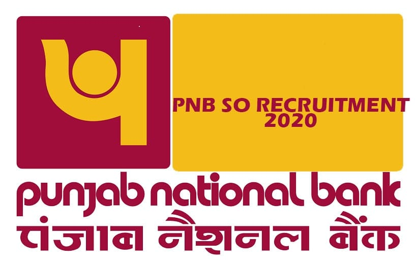 pnb so recruitment 2020