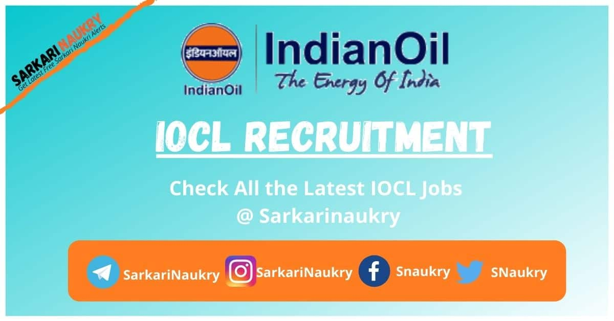 IOCL Recruitment 2021